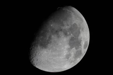 Luna, foto di Luigi Civita