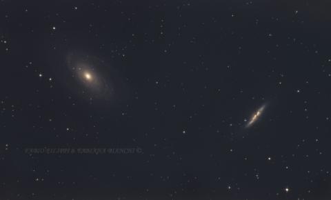 M81 e M82: Galassia di Bode e Galassia Sigaro