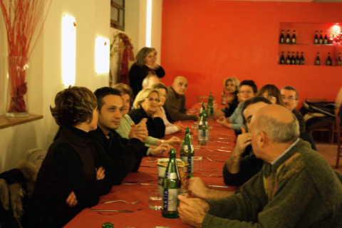 2008 - Addio alla Sede Sociale al Vomero e Cena Sociale
