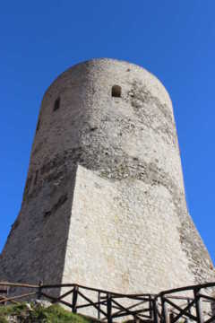 2013 - Visita al complesso castellare di Summonte (AV) - QSO ed osservazioni del Sole e di Venere