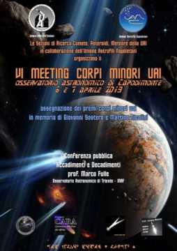 2019 - VI Meeting Corpi Minori