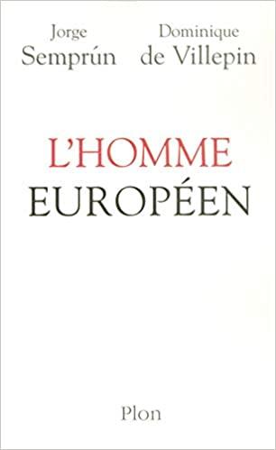 Book Cover: L'homme européen