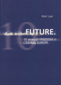Book Cover: Back to the future : 10 years of freedom in Central Europe