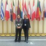 La Presidente UNAGIPA ed il Segretario generale in Corte di Giustizia