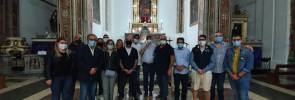 Il Priore dell'Arciconfraternita del Carmine di Taranto in visita presso la Chiesa delle Anime Sante del Purgatorio