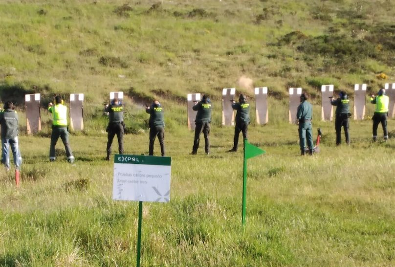 UniónGC denuncia la falta de equipo médico en los ejercicios de tiro.