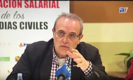 Reunion de las asociaciones profesionales de Guardia civil con PSOE sobre #EquiparacionYa