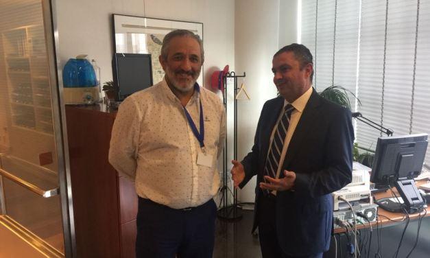 Reunión de @UnionGC con portavoz @PPopular en Comisión de Interior