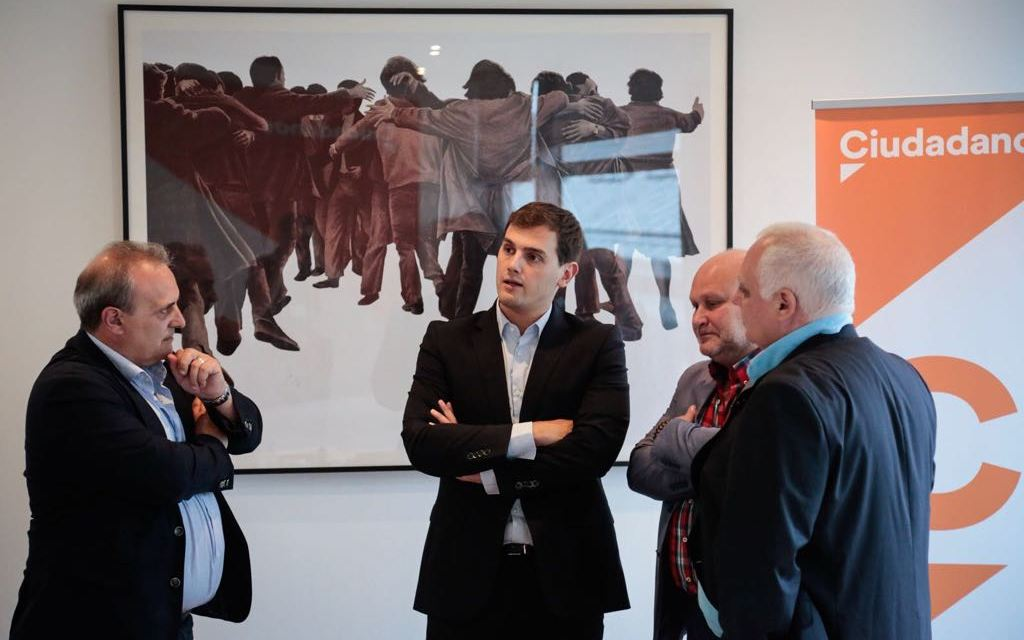 UnionGC se reune con Ciudadanos, equiparación de salario y el problema en Cataluña