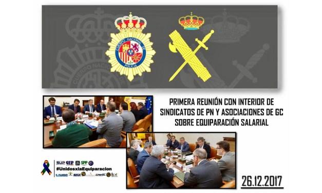 Reunion de asociaciones, sindicatos y Ministro del Interior sobre #UnidosxlaEquiparacion