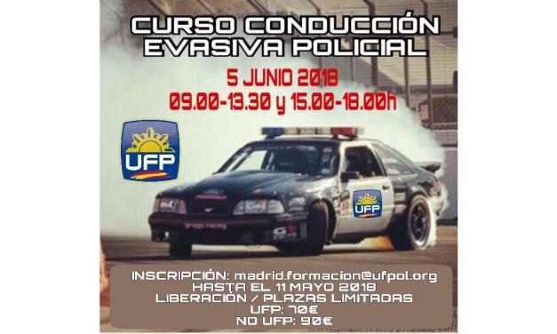 Curso de conducción evasiva policial