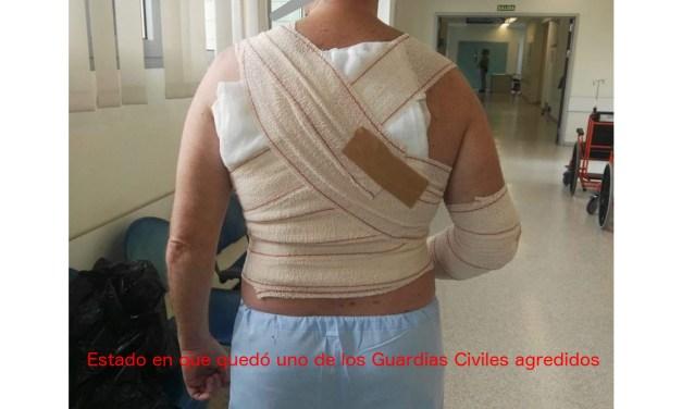 Unión de Guardias Civiles, UnionGC, se querellará por los heridos en Ceuta