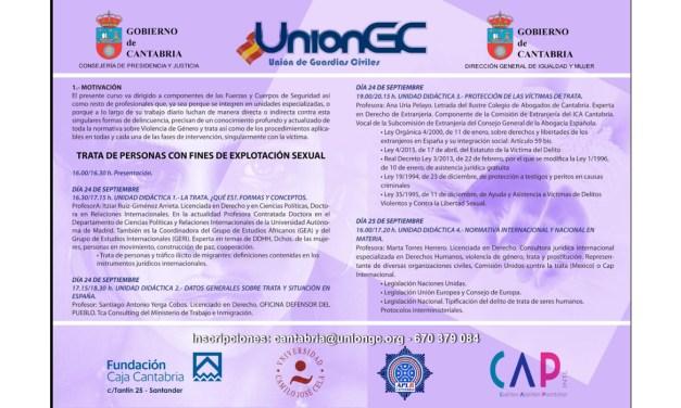 UnionGC organiza un curso sobre trata de personas con fines de explotación sexual
