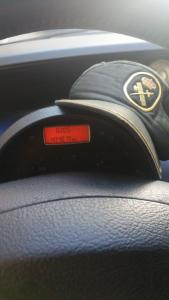 Coche del Guardia Civil con más de 400.000 kms recorridos. Sigue en circulación