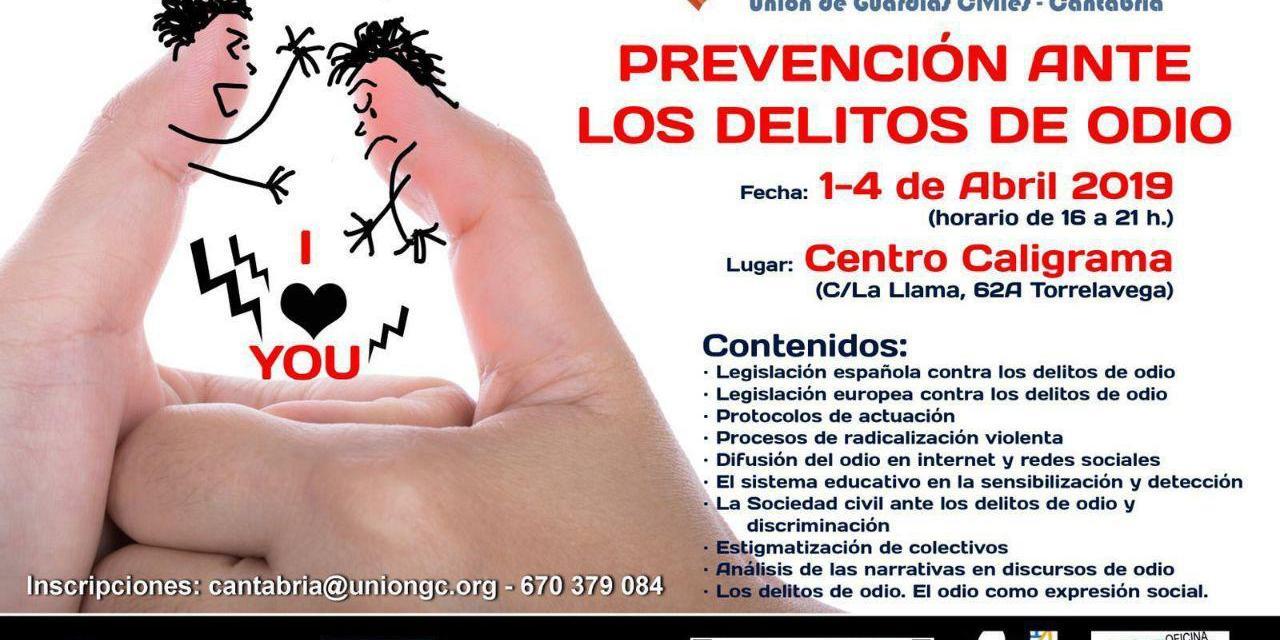 UnionGC organiza un curso sobre prevención ante los delitos de odio
