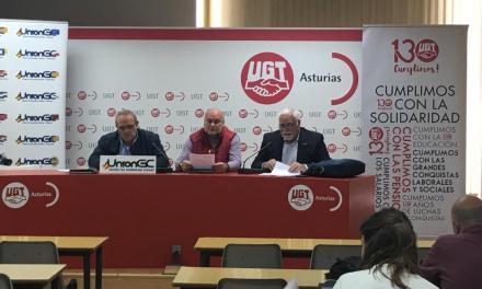 UnionGC ofrece una rueda de prensa denunciando vulneración de derechos