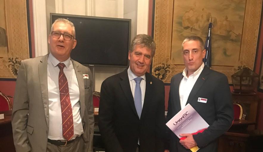 """UnionGC junto al resto de asociaciones y sindicatos apoyan el recurso contra la Ley vasca de """"abusos policiales"""""""