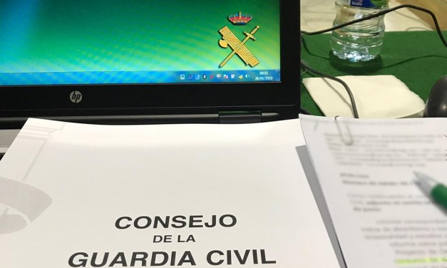 Resumen del pleno del Consejo de la Guarda Civil