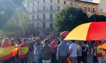 UnionGC se concentra en Palma de Mallorca en apoyo a las FF. y CC. de Seguridad que trabajan en Cataluña