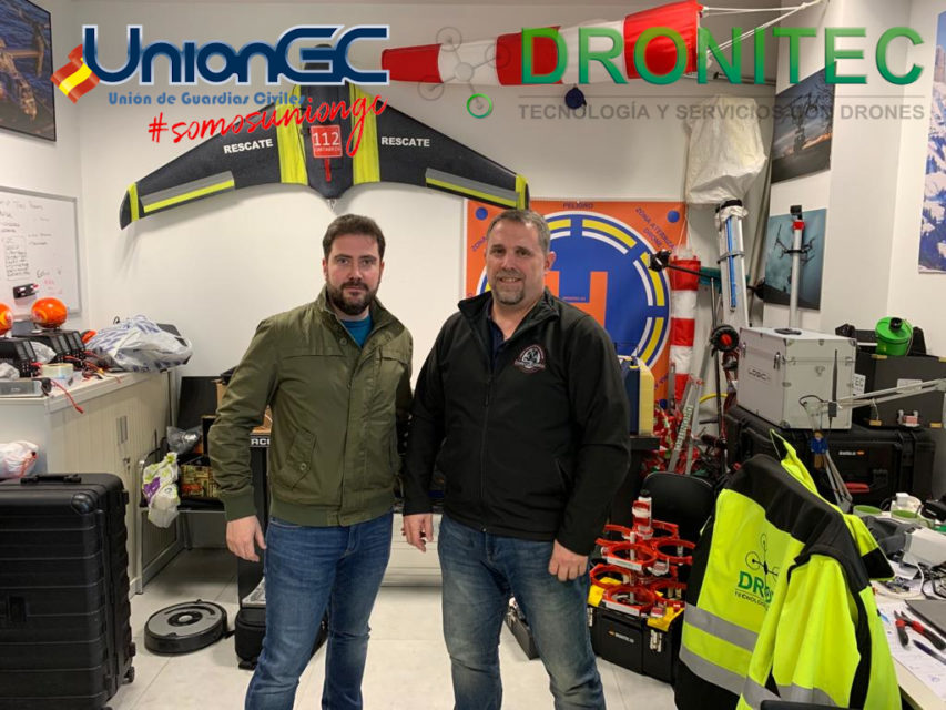 Suscribimos un convenio de formación con Dronitec