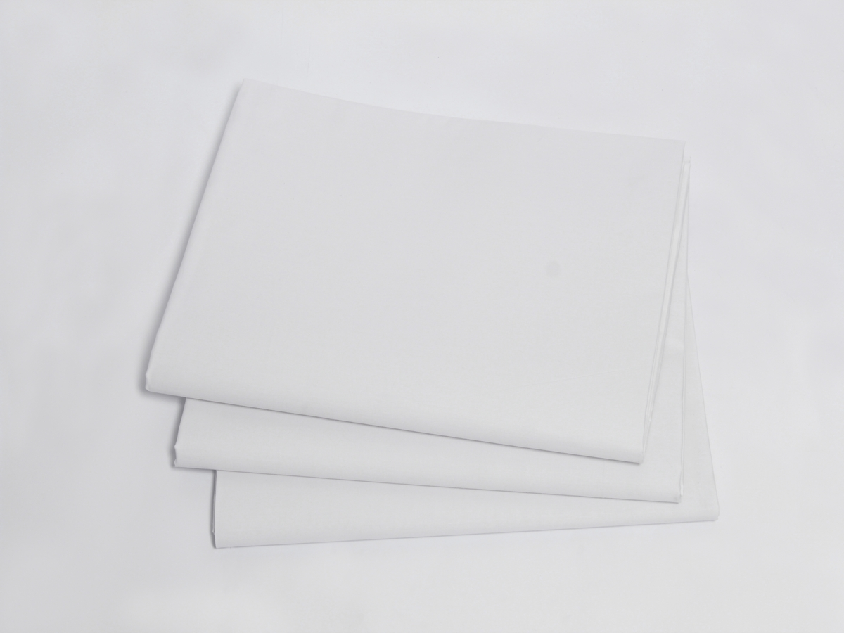 Percale T 250 Splendid Quality Full Size Fitted Sheet 54 X80 15 Cvc