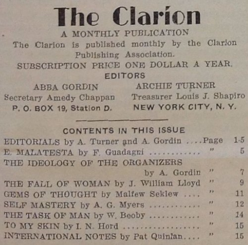 TheClarion-V1N1