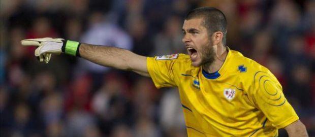 Rubén, jugador más votado ante el Valladolid