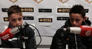 Entrevista a Álvaro y Manuel del Alevín B