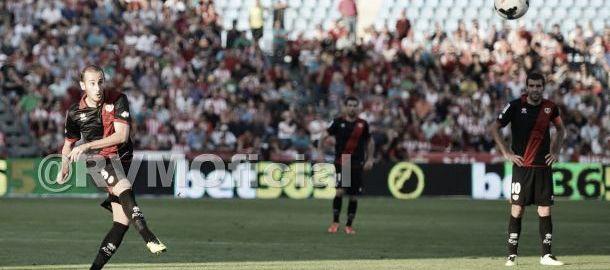 Gálvez, autor del mejor gol del Rayo en 2013