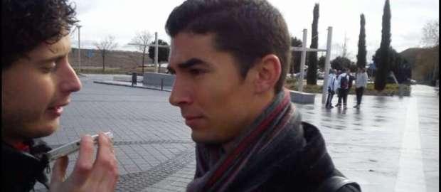 Diego Merino tras el Real Madrid 4-1 Juvenil A