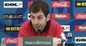 Rueda de prensa de Roberto Trashorras