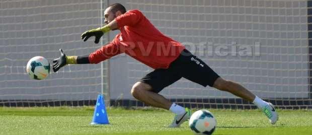 Rubén, jugador más votado ante el Levante