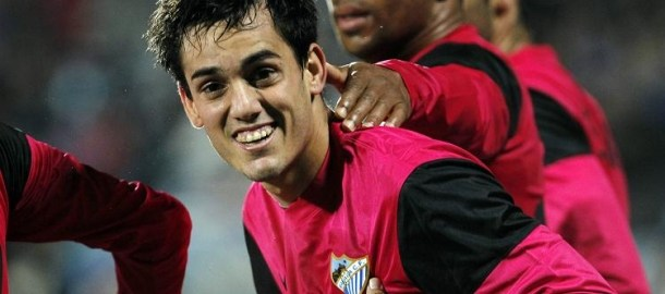 Entrevista al jugador dle Málaga Juanmi