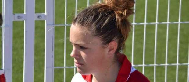 Entrevista a Inma Martínez tras debutar ante el Sevilla