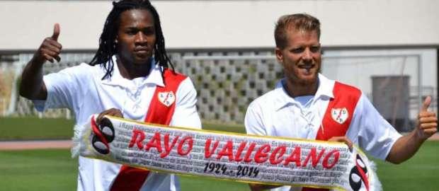 Presentación de Manucho y Morcillo como jugadores del Rayo