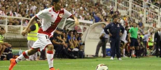 Javier Aquino, jugador más votado ante el Atlético