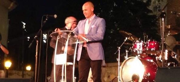 Pregón de Paco Jémez en las fiestas de Villa de Vallecas
