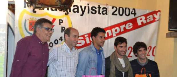 II Coloquio X Aniversario Peña Rayista 2004 con Michel y Cobeño