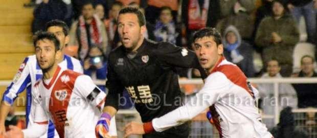 """Toño tras el Rayo 1-2 Deportivo: """"Hay que seguir trabajando, no hay que ponerse nerviosos"""""""