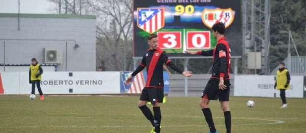 Atlético B 3-0 Rayo B