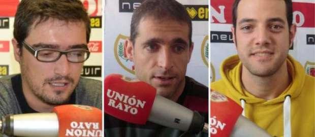 Tertulia tras victoria ante el Villarreal con Isaac Suárez, Granado y Morillo