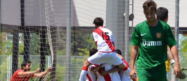 Vuelta 1/4 de Copa del Rey: CF Damm 1-1 Juvenil A
