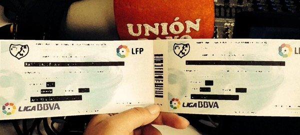 Gana 2 entradas para el Rayo – Las Palmas con Personalaizer