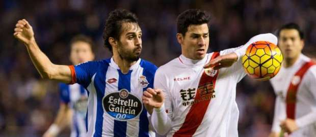 Deportivo 2-2 Rayo Vallecano