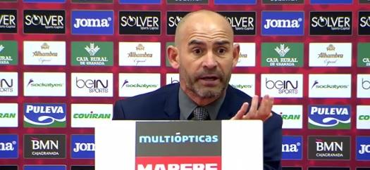 """Paco Jémez tras el Granada 2-2 Rayo: """"Pudimos llevarnos los tres puntos"""""""
