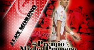 Álex Moreno, jugador más votado ante el Mirandés
