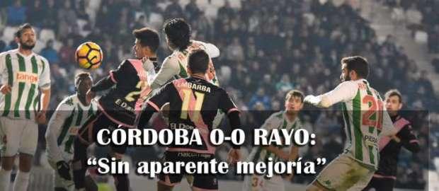 Crónica del Córdoba 0-0 Rayo