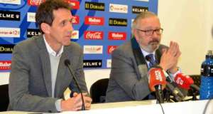 Rueda de prensa de Ramón Planes y José María Sardá