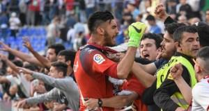 Gazzaniga y Galán, bajas para el partido ante el Levante