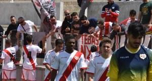 Galería fotográfica del Rayo B 1-1 Atlético Pinto
